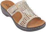 Clarks As Is Leather Peforated Sandals - Hayla Samoa