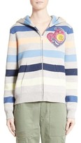 Marc Jacobs Women's Embroidered Stripe Hoodie