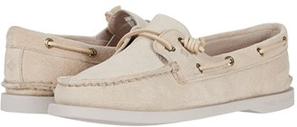 Sperry A/O Vida Serpent Leather (Ivory) Women's Shoes