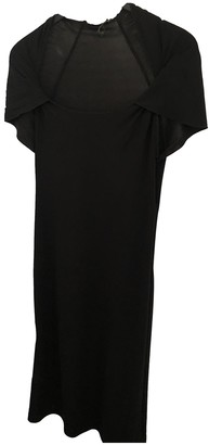 Saint Laurent Black Polyester Dresses