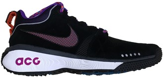 Nike Acg Black Rubber Trainers