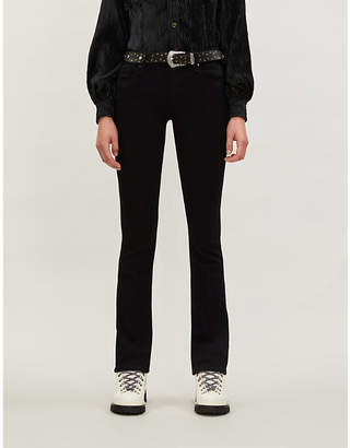 Paige Manhattan high-rise bootcut jeans