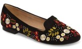 Topshop Women's Sugar Embroidered Smoking Slipper