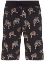 Dolce & Gabbana Leopard Motif Shorts