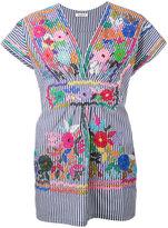 P.A.R.O.S.H. Camitry tunic - women - Cotton/Polyamide/Spandex/Elastane - L