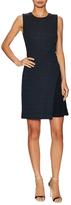 O'2nd Scarlet Cotton Asymmetrical Dress