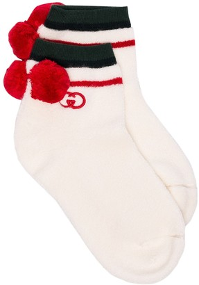 Gucci Logo-Embroidered Cotton-Blend Socks