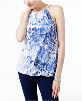 INC International Concepts Embellished Halter Top, Only at Macy's