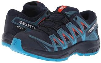 Salomon Xa Pro 3D Cswp (Little Kid/Big Kid) (Navy Blazer/Mallard Blue/Hawaiian Surf) Boys Shoes