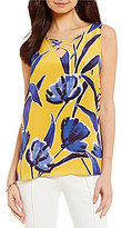 Antonio Melani Condy Printed Silk Blouse