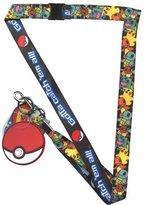 Pokemon Lanyard Group Pattern w/Dangle & Hangtag New FL23572681