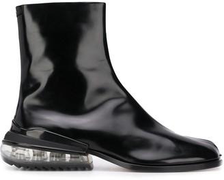 Maison Margiela Tabi Airbag heel boots