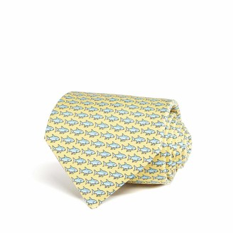 Vineyard Vines Bonefish Printed Tie Yellow
