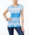 inc international concepts laceprint tshirt only at macys