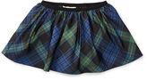 Ralph Lauren Plaid Taffeta Pull-On Skirt