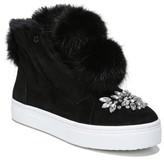 Sam Edelman Women's Leland Faux Fur Sneaker