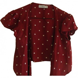 Flynn Skye Red Viscose Tops