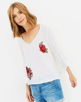 Sass Roselia Bell Sleeve Blouse