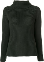 Odeeh turtleneck ribbed jumper - women - Virgin Wool - 34