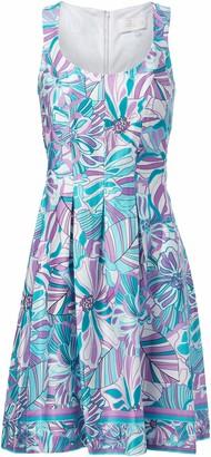 Pappagallo Women's Inverted Box Pleat Dress