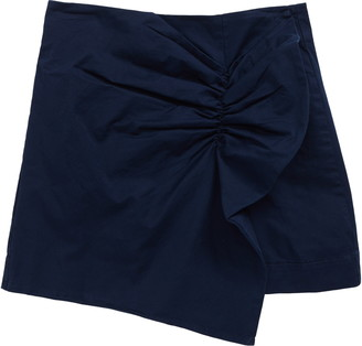 Habitual Gathered Stretch Twill Skort