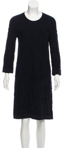 Chanel Textured Knee-Length Dress