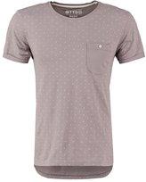 Tom Tailor Denim Basic Fit Print Tshirt Steel Grey