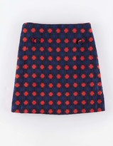Boden Vintage Button Skirt