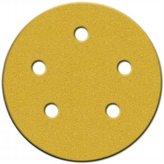 Norton Co. Consumer 49165 4 Count 5 in. 220 Grit Very Fine Hook & Loop Sanding Discs Wi