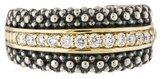 Lagos Diamond & Caviar Beaded Ring