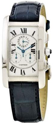 Cartier 2000 pre-owned Tank Americaine 26mm