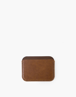 Madewell MAKR Leather Round Luxe Wallet