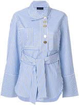 Eudon Choi striped blouse