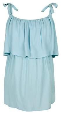 Dorothy Perkins Womens **Maternity Blue Crinkle Nursing Camisole Top, Blue