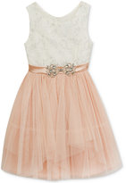 Rare Editions Cascading Tulle Dress, Toddler & Little Girls (2T-6X)