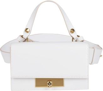 Alexander McQueen White Leather Bag