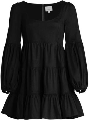 Cinq à Sept Rose Tiered Ruffle Mini Dress