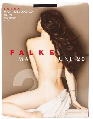Falke Matt Deluxe 20 Denier Tights - Black