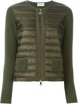 Moncler 'Coreana' jacket - women - Cotton/Feather Down/Polyamide - XL