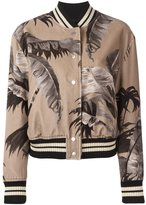 Off-White palm print bomber jacket