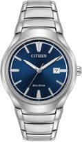 Citizen Men's Eco-Drive Dress Stainless Steel Bracelet Watch 40mm AW1550-50L