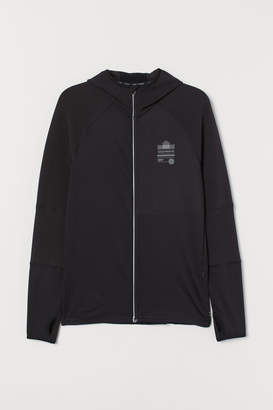H&M Hooded winter running jacket
