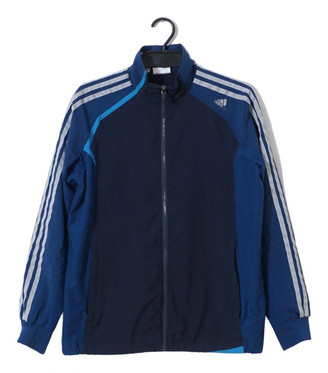 adidas Navy Polyester Jackets