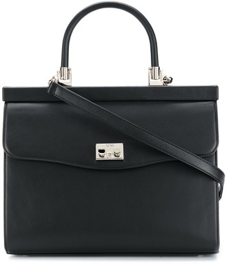 Rodo Paris leather satchel tote