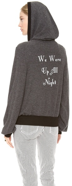 Wildfox Couture Gatsby Summer Night Zip Hoodie