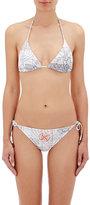 Vilebrequin Women's Fleur Triangle Bikini Top