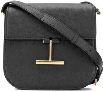 Tom Ford T plaque crossbody bag