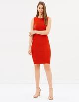 Karen Millen Textured Knit Pencil Dress