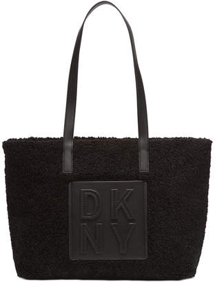 DKNY Tilly Stacked East West Top Zip Tote