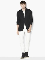 John Varvatos Linen Metallic Sweater Jacket